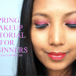 Spring Makeup Tutorial: Pop Of Pink Smokey Eye for Beginners | @tauyanm