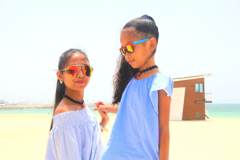 Burj Al Arab, off shoulder, mother and daughter, www.tauyanm.com