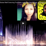 #TravelVlog: The Dubai Mall Dancing Fountain (Video) #mydubai #dubaiblog