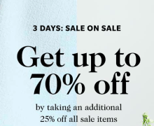 Sale on Sale with shopbop.com! Get the Code here!
