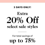 Shopbop.com Sale! Save Up to 75%!