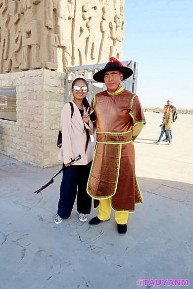 shuidonggou site yinchuan ningxia china, jane dubai blogger, travel blogger