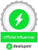 dealspotr influencer badge,