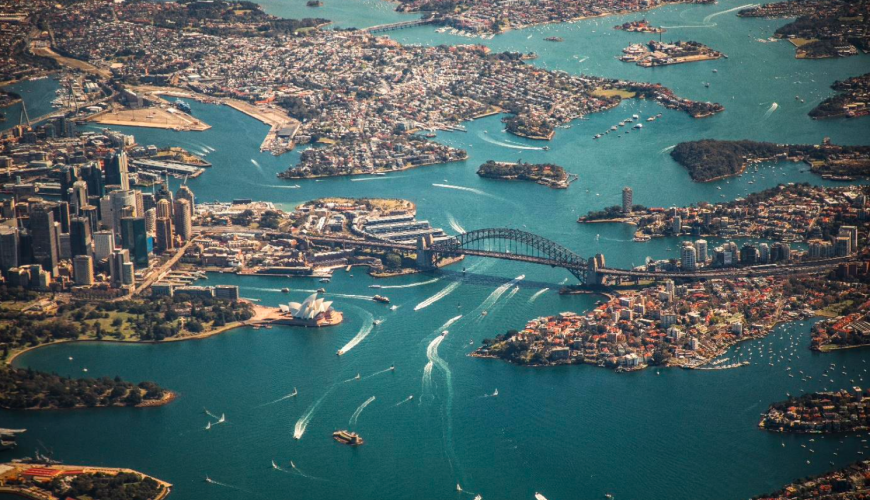 Famous Sydney Events Best Viewed From The Sky b
