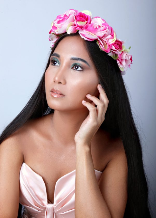 mary jane tauyanm, model, @tauyanm, spring flower crown 1