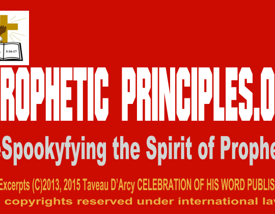 RIGHTFULLY DISCERNING THE OFFICE OF THE OFFICE OF THE APOSTLE, PROPHET