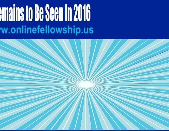 APOSTLE TAVEAU D'ARCY CREATIVE LEADERSHIP SERVICES: MAKING AN ANNOUNCEMENT