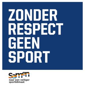 Zonder respect geen sport