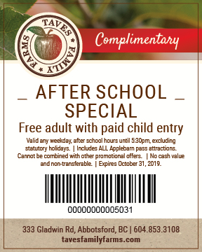 After School Special Coupon