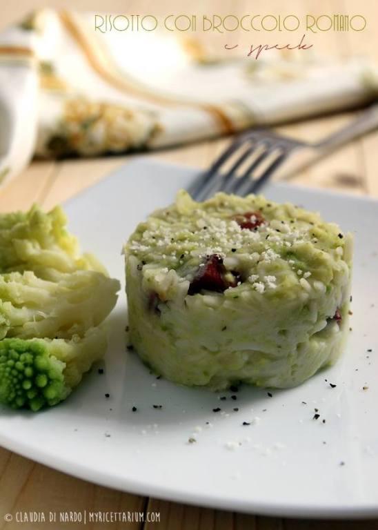 My Ricettarium - Risotto con broccolo romano