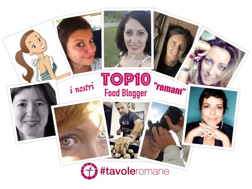 Top10 Food Blogger romani per Tavole Romane