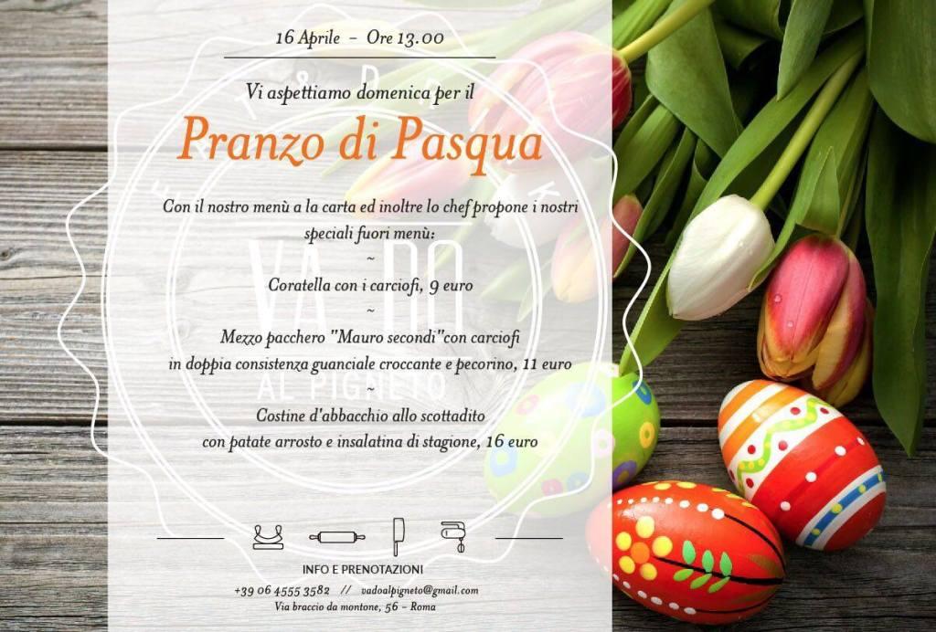 Va.Do al Pigneto - Pranzo di Pasqua