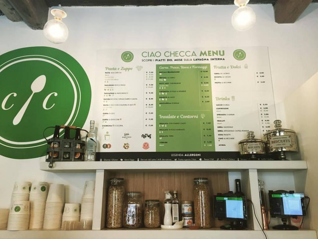 Ciao Checca, menu autunno/inverno 2017