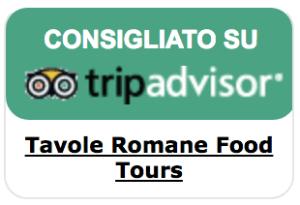 Tavole Romane Food Tours consigliato su TripAdvisor
