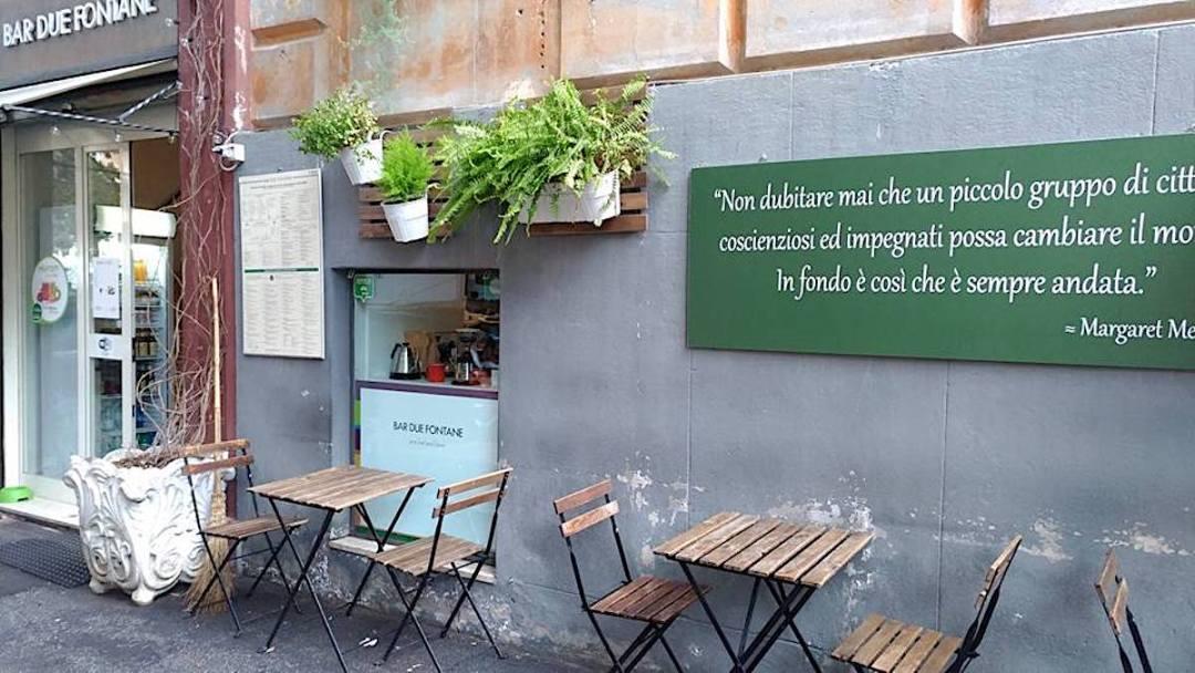 Bar Due Fontane - ingresso