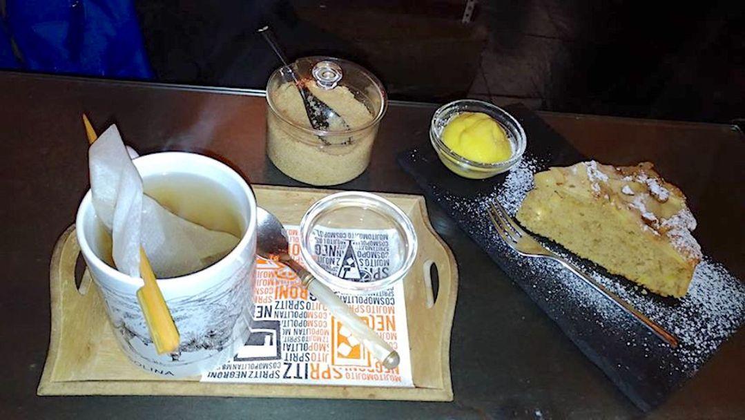 Makasar - tè - torta