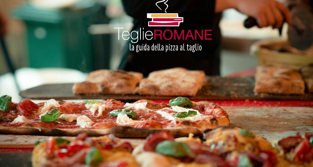TEGLIE ROMANE: arriva la prima guida di Roma tutta dedicata alla pizza al taglio (Comunicato Stampa)