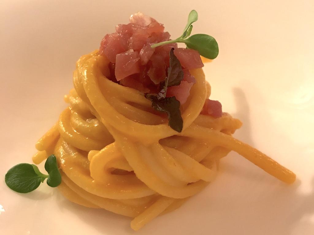Hotel Majestic - Chef Alessandro Testa - Spaghettone