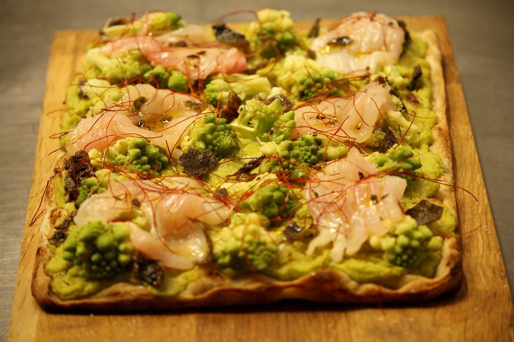 Broccoli e arzilla - Pizza