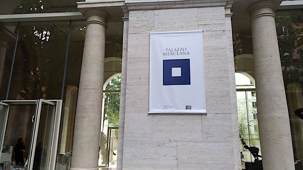 Palazzo Merulana - entrata