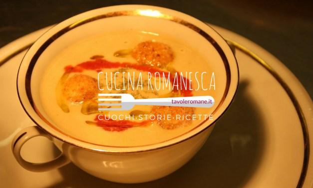 Cucina Romanesca: la tradizione del Venerdì con Baccalà e Ceci interpretato da Fabrizio Sepe de Le Tre Zucche