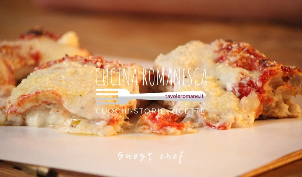Cucina Romanesca: tutti pazzi per la Pizza Cannelloni di Lievito Pizza, Pane