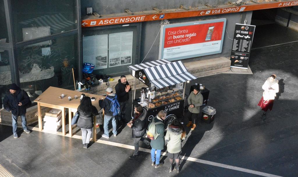 Roma: in arrivo nelle stazioni metro le Coffee Bike di Caffé Vergnano