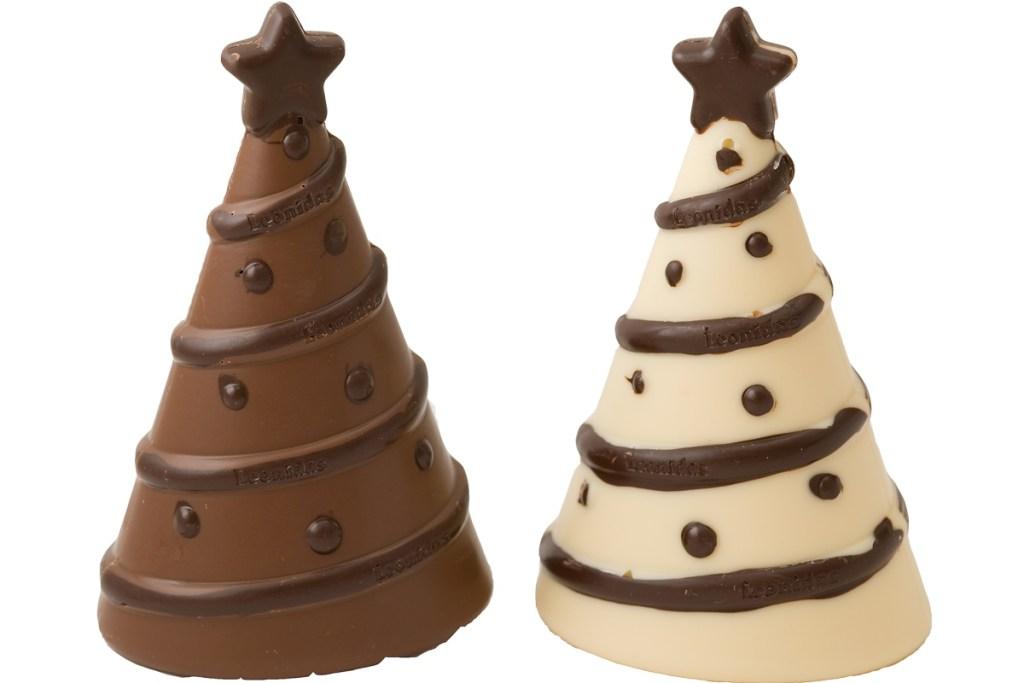 Leonidas Roma - Albero di Natale di cioccolato