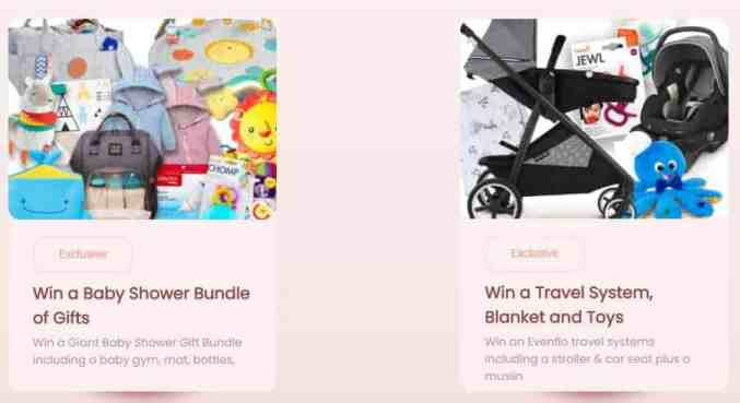 free baby stuff - family one giveaways