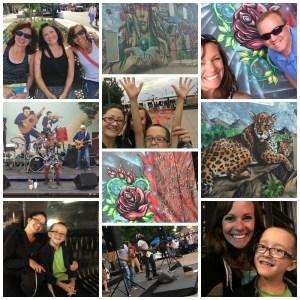 Summer goals, Progress on goals, Santa Fe Art District