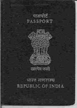 Passport Document Required