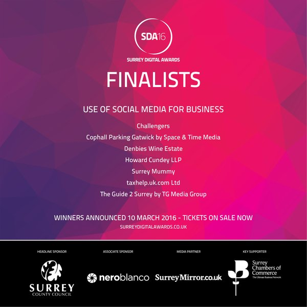 Social Media for business finalists SDA2016