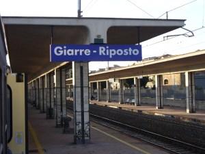 Stazione ferroviaria di Giarre - Riposto