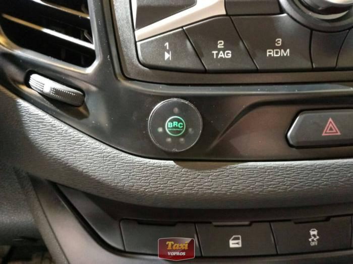 Лада Веста CNG - кнопка переключения газа