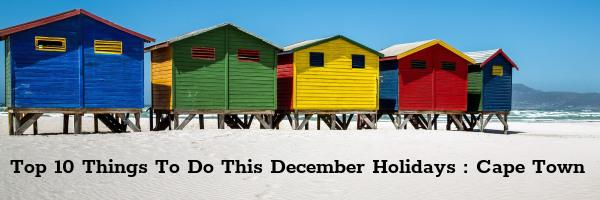 Top 10 spots Cape Town