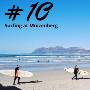 Surfing at Muizenberg