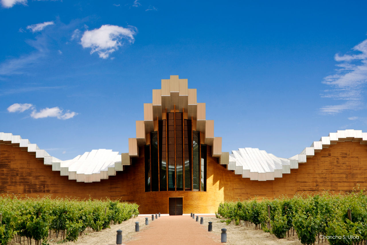 Ysios winery Spain modern