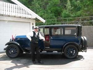Dette er en Buick Master 1926 7 seter som ble innkjøpt i forbindelse med<br /> Oslo Taxiforenings 75 års jubileum i 1987.
