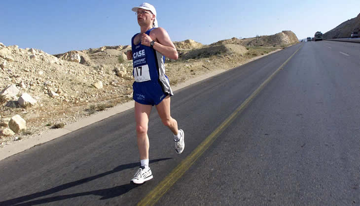 Han Frenken, Ultraloper en auteur over Ultralopen en de Marathon.