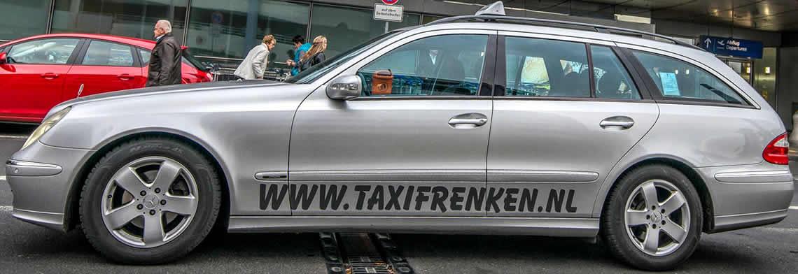 Taxi, airportservice of groepsvervoer reserveren
