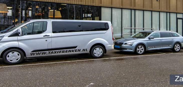 Zakelijk vervoer Taxi Frenken