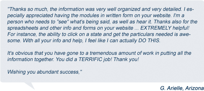 Creating Wealth Without Risk  Image of arielle testimonial