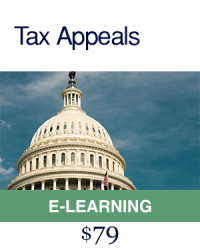 Tax Appeals E Learning Course