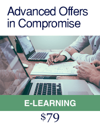 Advanced Offers in Compromise E Learning Course