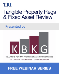 Tangible Property Regulations and Fixed Asset Review