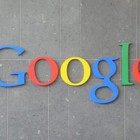 Google logo in Dublin