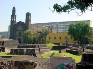 Plaza de las Tres Culturas, Tlatelolco.