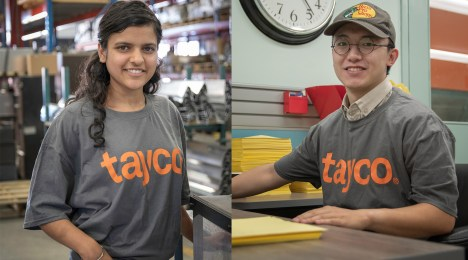 Employee Profile: Tayco's Summer Students