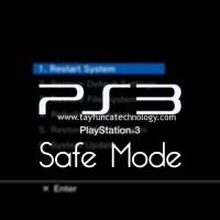 PS3 Güvenli Mod - Safe Mode Açma