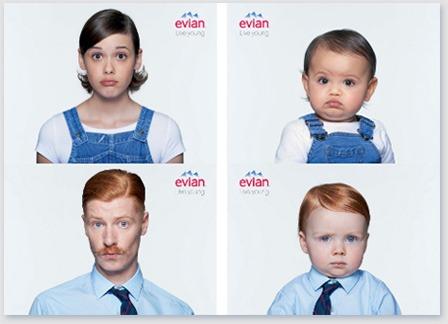Evian Bebeği olmak